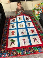 Leia A's quilt