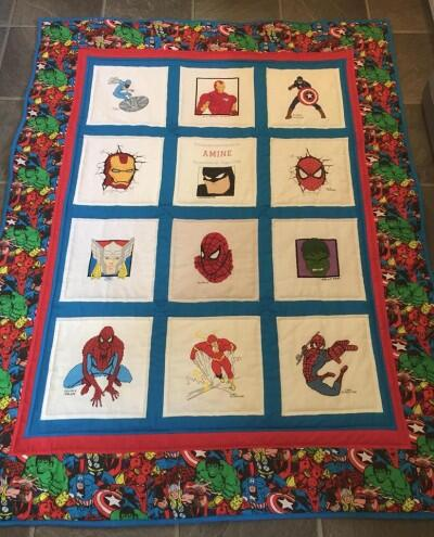 Photo of Amine Bs quilt