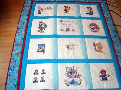 Photo of Samuel Ws quilt