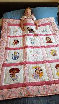 Photo of Holly Cs quilt