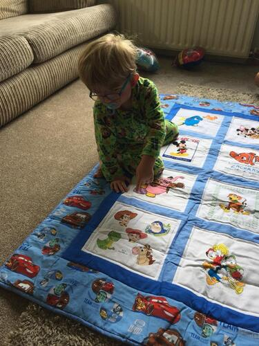 Photo of Zachary Ps quilt