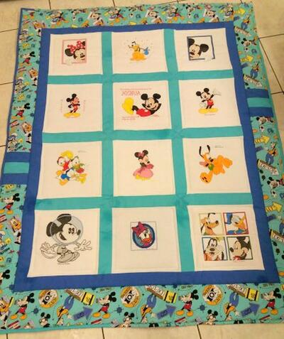 Photo of Joshua Ss quilt