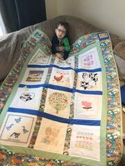 Charlie F's quilt