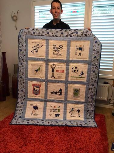 Photo of Callum Ws quilt