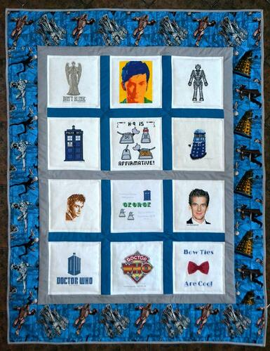 Photo of George Ps quilt