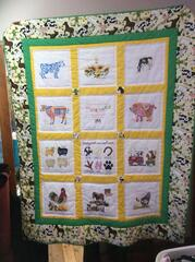 Charlie Y's quilt