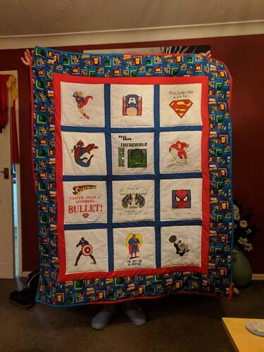Photo of Bobby Cs quilt
