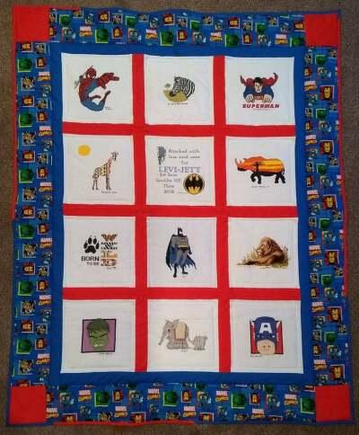 Photo of Levi-Jett Ms quilt