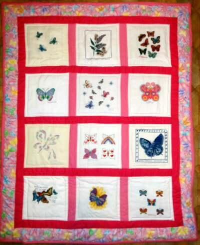 Photo of Caitlin Fs quilt