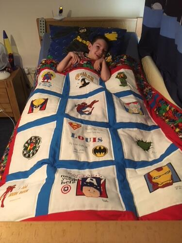 Photo of Louis Bs quilt