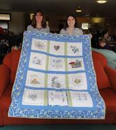 Forget-Me-Not Quilt's quilt