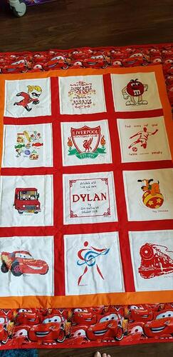 Photo of Dylan Rs quilt