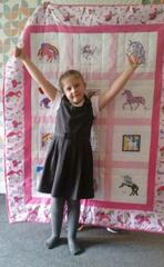Macie-Leigh's quilt