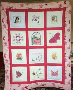 Photo of Anoosha Ms quilt