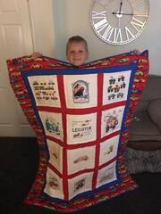 Leighton A's quilt