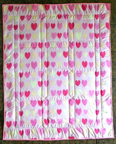 Photo of Suzanne Cs quilt