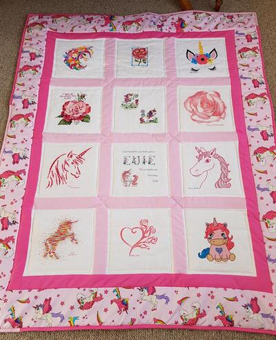 Photo of Evie Rs quilt