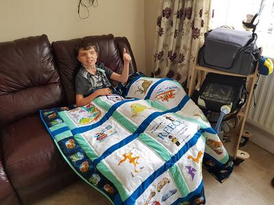 Photo of Reece Bs quilt