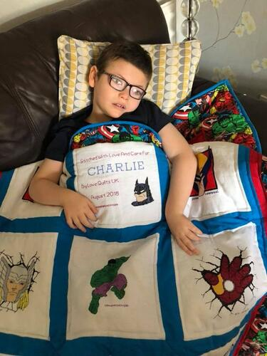 Photo of Charlie Ms quilt