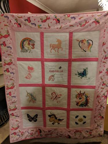 Photo of Gabriella Ss quilt
