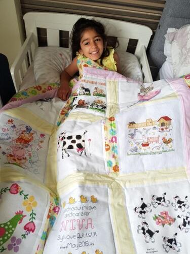 Photo of Niva Ps quilt