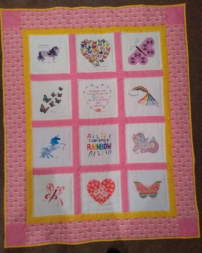 Photo of Elisia Bs quilt