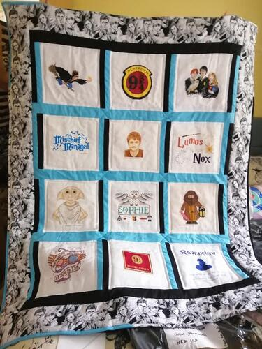 Photo of Sophie Fs quilt
