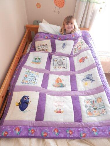 Photo of Isla Ws quilt