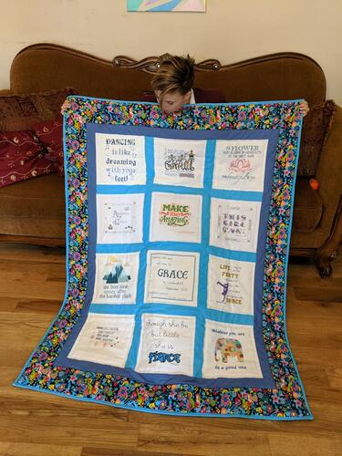 Photo of Grace Gs quilt