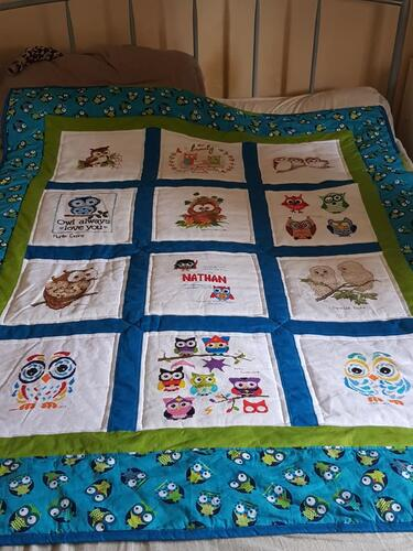 Photo of Nathan Ws quilt
