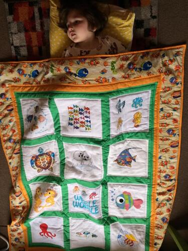 Photo of Ali Ns quilt