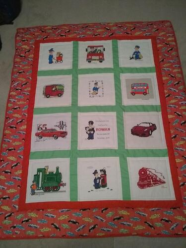 Photo of Rowan Cs quilt