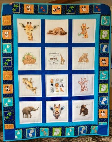 Photo of Noah Ds quilt