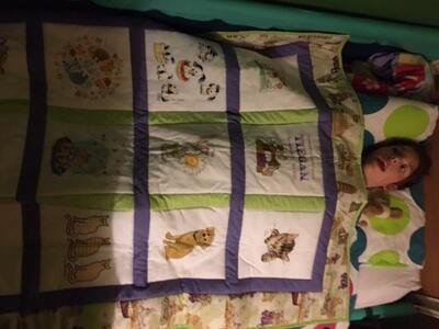 Photo of Tiegan Gs quilt