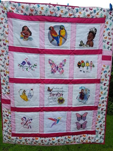 Photo of Jayda Js quilt