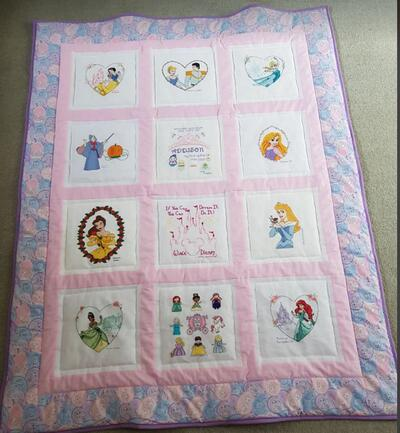 Photo of Addison Bs quilt
