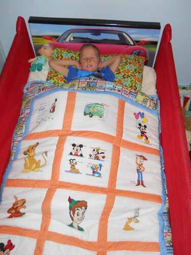 Photo of Adam Gs quilt