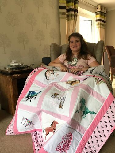 Photo of Emily Ss quilt