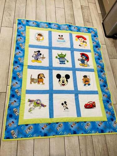 Photo of Oliver Ws quilt