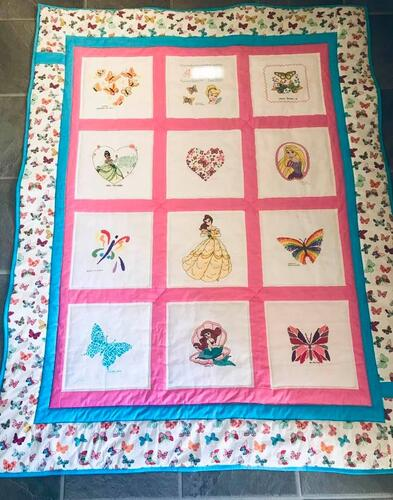 Photo of As quilt