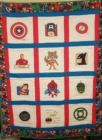 Photo of Kian Ss quilt