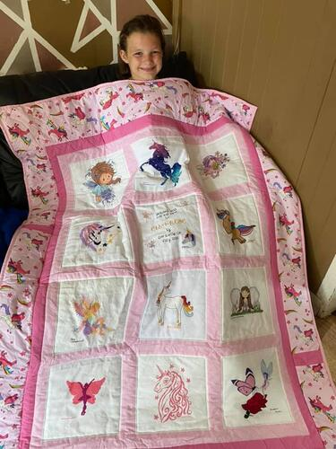 Photo of Ella-Rose Es quilt