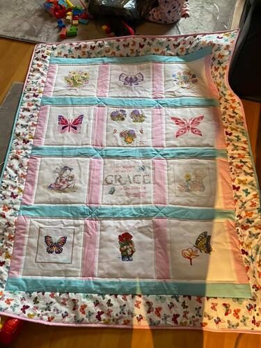 Photo of Graces quilt
