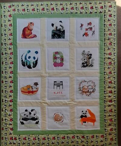 Photo of Kates quilt