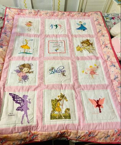 Photo of Mya Hs quilt