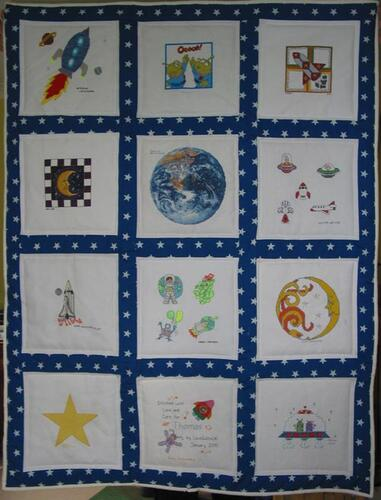 Photo of Thomass quilt