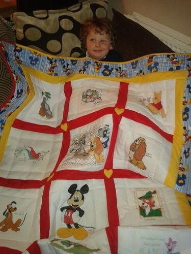 Photo of Mason Ms quilt