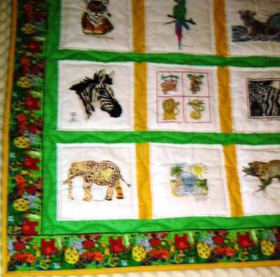 Photo of Theo Hs quilt