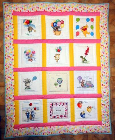 Photo of Aimee Bs quilt