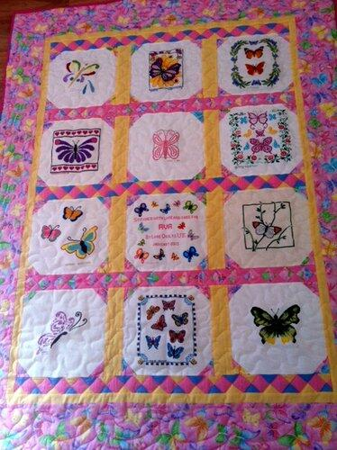 Photo of Ava Ss quilt